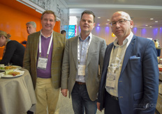 Anthony Ley, Marc Zuidhof & Anastasios Kitsaras with Greencann