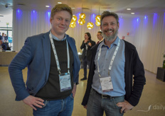 Maarten Vandecruys with Urban Crop Solutions & Dirk Aerts with Biobest