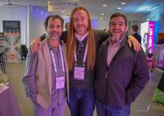 Joshua Berman (iCan), Jim Walsh (Coppertop) & Saul Kaye