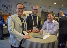 Benjamin Patock (Boveda), Jens Oerum (Investment Management), Sam Critchley (Bioline AgroSciences)