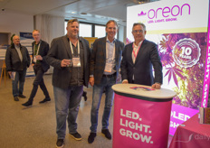 Thoma Rau (Legale Cannabis Coalitie) visiting Peter Barentsen & Jan Mol with Oreon