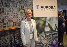 Marianne Hundtofte Nielsen with Aurora Nordic