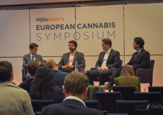 Julián Wilches, Co-founder & Chief Regulatory Officer with Clever Leaves, Jakob Sons, Co-founder & Managing Partner with Cansativa and Andrés Vázquez Vargas, Executive Director with ACM Peru spoke on how Europe's Cannabis Industry connects with Emerging Markets