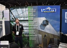David Branca with Conley's Greenhouse Manufacturing Sales