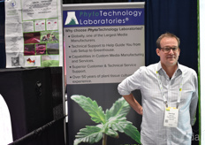 David Hart with Phyto Technology Laboratories