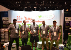 The happy team with Vital Garden. From the left: Moose Garin, Brian Malin, Bryan Raab, Jeremiah Granger, and Paul Harton