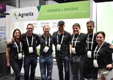 The team with Agnetix, brightening up the showroom with their smiles. From the left: Cristina Rodriguez, Jordan Miles, Troy Robson, Felipe Recalde, Eric Battuello, Justin Jennet, and Andrea Ebbing