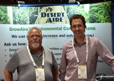 Eric Synhorst and Sam Ringrose with Desert Aire