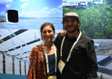 Sunny Kaercher and Josh Holleb with Ceres Greenhouse Solutions