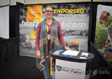 Pamela  Cooze with Hortprotect