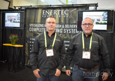 Kevin Van Wingerden & John Lelie with Enertec Engineering, providing complete system design for energy systems.