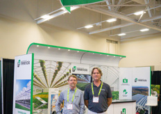 Alain Gendron & Francis Paquin with Harnois, expert in manufacturing greenhouse structures for over 50 years.