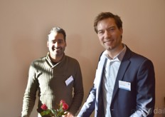 From the left: Ashwin van der Flier, Van Der Flier CEO, and Job Knook with GreenTech