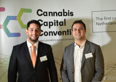 From the left: David Ferreira and Josh, FunCrops co-founders