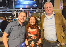 Matthew Dent and Laura Rastovac together with Rutger Jan-Hebber with 420 Consultancy