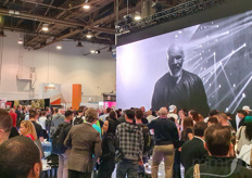 Want to assure a full booth? Invite Mike Tyson over. It's a bit the crazy vibe of the cannabis show, although it seemed to be slightly less wild than last year.