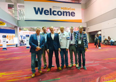 The bouncers of the 4th edition of the MjBizCon, aka the team with Total Energy Systems: Niek Luiten, Dennis van Alphen, Johan van den Beukel,  Peter Stuyt & Gerrit Otto