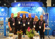 From the left: Jon Greene, Larry Bourland, Jules Simpson straight from New Zealand, Darren Gilbert, Cindy Farnsworth, and Caroline Wells with Bluelab