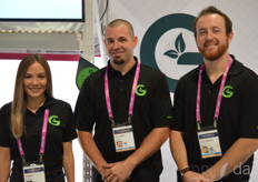 Stephanie Z, Darin Siples, and Travis Schwartz with Grow Glide
