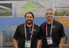 Austin Juma and Robert Steere with GrowSpan