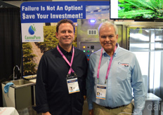 Philip Gencher and Brian Hubka with Cannapure