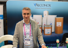Michael Moussourakis with Alconox