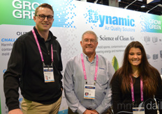 Mike Farnsworth, Ray Markey and Tori Binz with Dynamic Air Quality Solutions