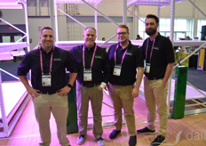 From the left: Shawn Moraca, Lance Pennington, Joseph Seitz and Dan Henke with MMI Agriculture