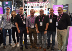 From the left: Rand Arnold, Melissa Diaz, Ron Hurle, Andrew Myers, Steve Coldren, Tom Beyner, Fletcher Lane with ProGrowTech