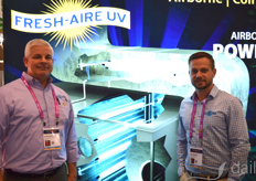 Jim Beavers and Kyle Mcgrath with Fresh-Aire UV