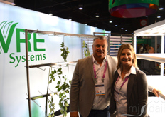 Mike Van Zalen and Mary Haurilak with VRE Systesms