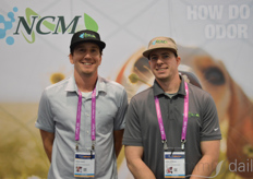 Jesse Levin and John O'Brien with NCM Environmental Solutions