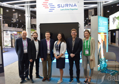 Porter Norton, Luke Wilson, Tony McDonald (CEO), Brandy Keen, Eric Roiter, Lauren Lindahl with Surna