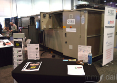 CGEE HVAC Sytems was at the show as well showcasing their solutions for large-scale cannabis operations