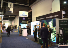 Also Aurora Cannabis, one of the largest Canadian LPs, had a booth at the show