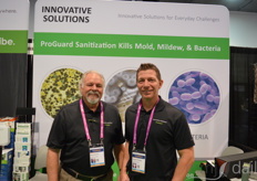 Gary Mancini and Michael D'Ambra with Innovative Solutions