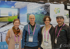 Sunny Kaercher, Marc Plinke, Miriam Schaffer, and Josh Hollen with Ceres Greenhouse Solutions