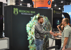 Medicine Man Technologies had a massive booth, surely accommodating the huge crowd stopping by them