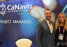 James Garum and Kendyle Millar with CaNavis International