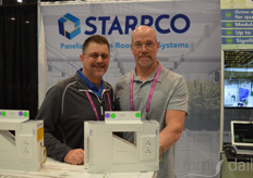 Steve Pona and Seth Gladstone with Starrco