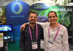 Bryan Hesterman and Rob Battiston with InSpire