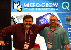 Tom Piini and Josh Rudy with Micro Grow Greenhouse System