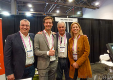 Johan van Erven & Will Lammers with Ridder Group and Job Knook & Mariska Dreschler with GreenTech.