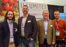 Mark McDevitt, Denis Riling, Alan Goldman & Jordan Goulet with Illumitex