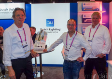Ton ten Haaf, Pepijn Looijaard & Peter Hendriksen with Dutch Lighting Innovations
