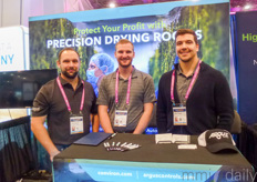 Argus / Conviron showed the possibilities of precision driving roots. In the photo Travis Routhier Zach Gipssart & Calvin Birdsall