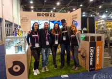 The team with Biobizz provides organic fertilisers & substrates.