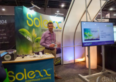 Steve Perry with Adapt8, manufacturers of Solexx Greenhouses.