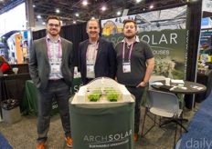 Brian Billett, Tony Kiefer & James Arn with ArchSolar