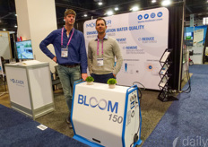 Michiel de Jong & Warren Russell with Moleaer. Recently Green Circle Farm shared how the treated water effected their cultivation: https://www.hortidaily.com/article/9170987/can-on-grower-updates-irrigation-system-with-nanobubble-technology/